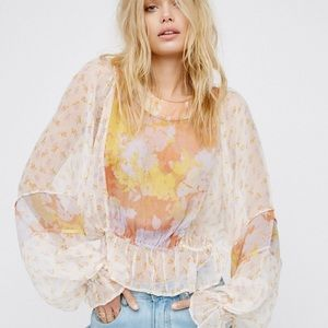 Into The Wilderness Blouse by Free People
